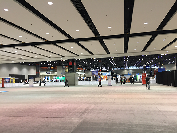 Exhibition hall Oct 2017