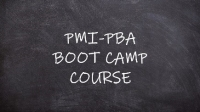 PMI Professional in Business Analysis (PMI-PBA)® Boot Camp Course